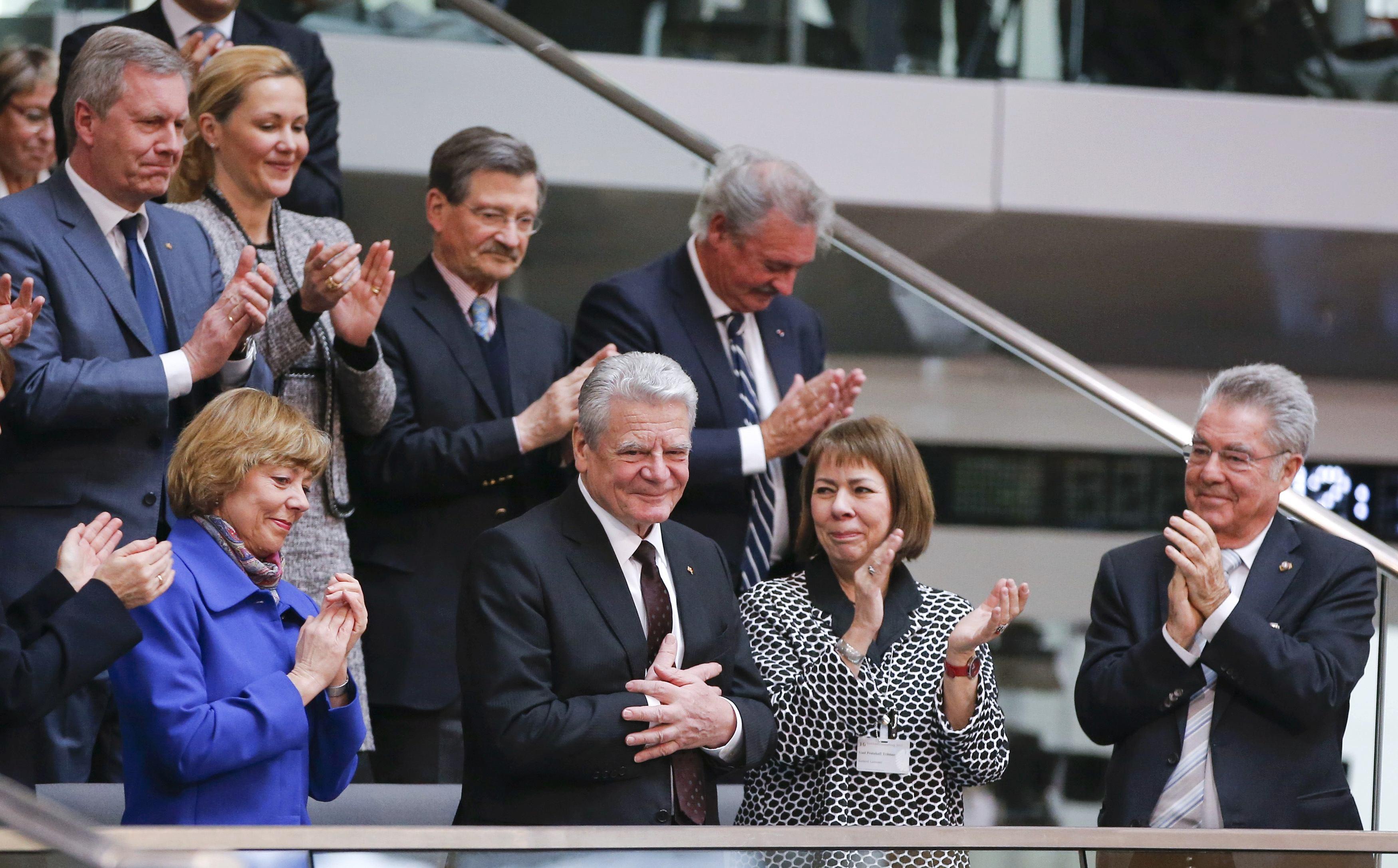 الرئيس الألماني المنتهية ولايته يواخيم جاوك