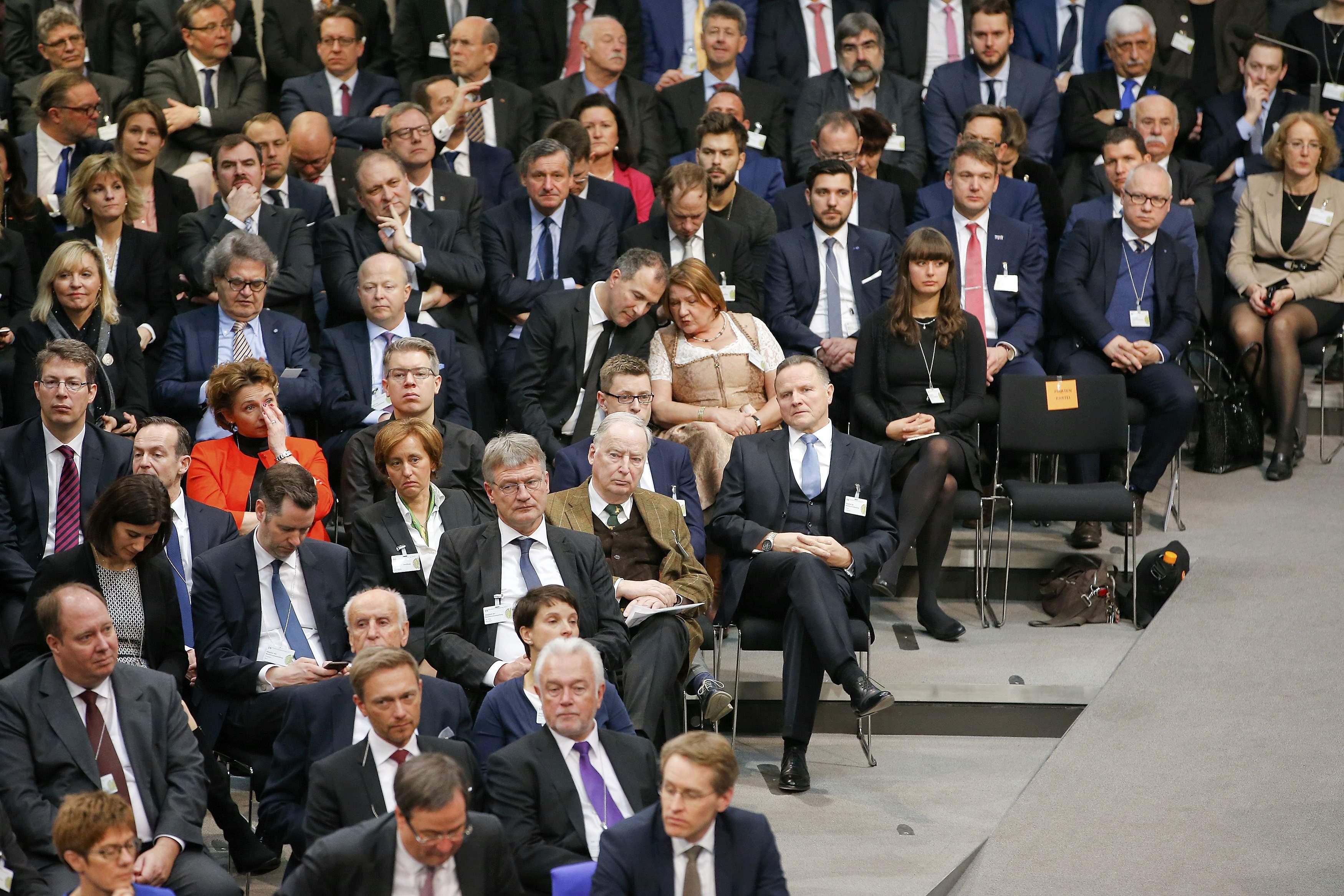 التصويت فى الانتخابات الرئاسية الألمانية داخل البرلمان الألمانى