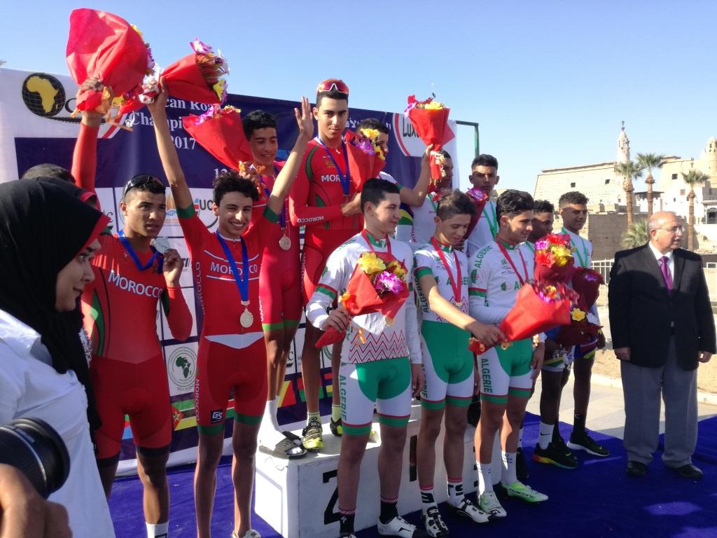 فريق المغرب يفوز بالمركز الثاني بالبطولة بالاقصر