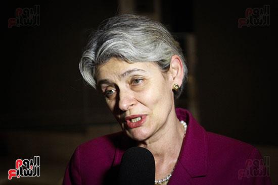 وزير الآثار يستقبل إيرينا بوكوفا فى متحف الفن الإسلامى (27)