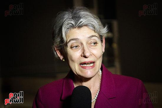 وزير الآثار يستقبل إيرينا بوكوفا فى متحف الفن الإسلامى (28)