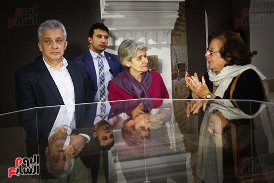 وزير الآثار يستقبل إيرينا بوكوفا فى متحف الفن الإسلامى (8)