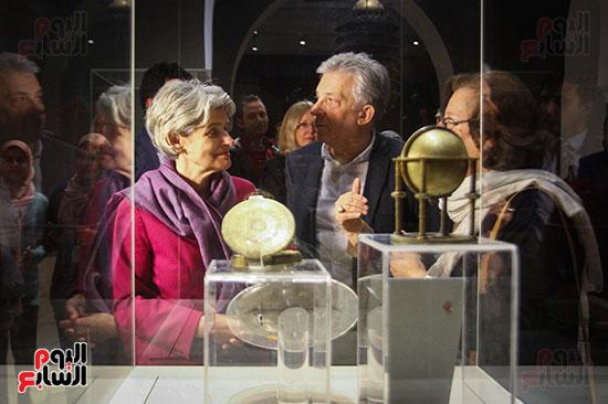 وزير الآثار يستقبل إيرينا بوكوفا فى متحف الفن الإسلامى (20)