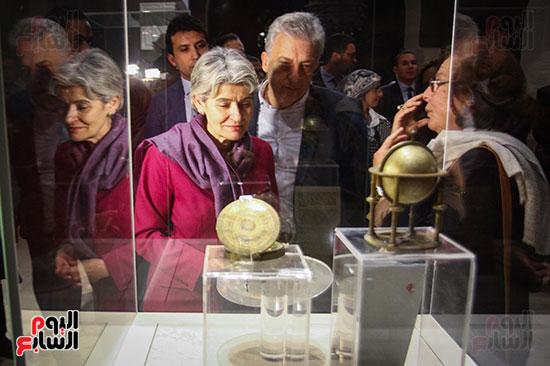 وزير الآثار يستقبل إيرينا بوكوفا فى متحف الفن الإسلامى (19)