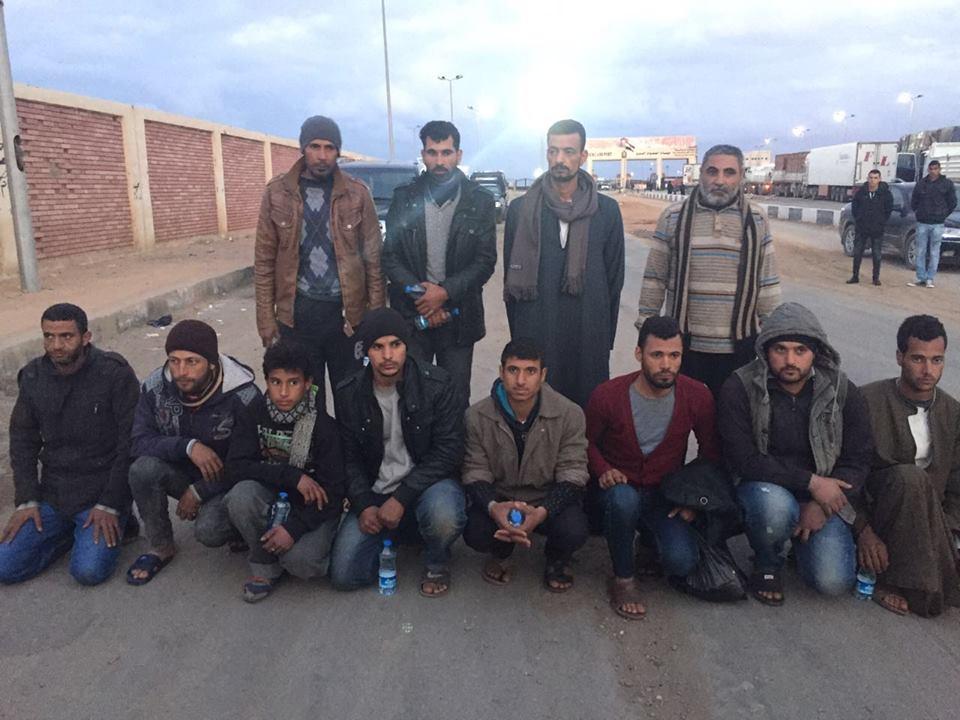 تحرير 13 مصري فى ليبيا