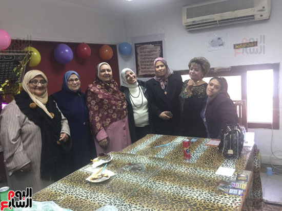 حفل تكريم صفاء مختار الشرشابى كبير أخصائى ومدير المكتبة المركزية بجامعة عين شمس