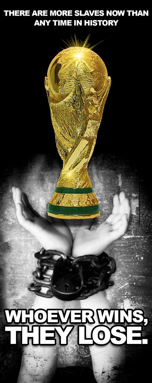 حملة مناهضة لإقامة كأس العالم فلا قطر