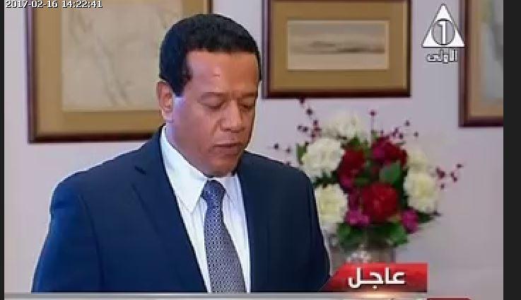 صفوت عبد الحميد الحداد نائب وزير الزراعة
