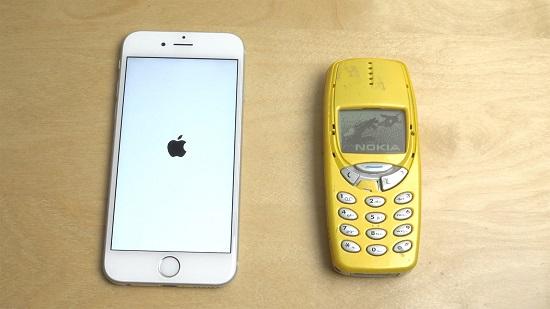 نوكيا 3310 وآيفون 6