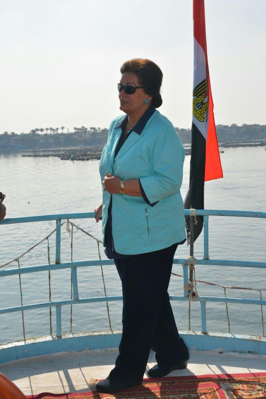 المهندسة نادية عبده محافظ البحيرة (2)