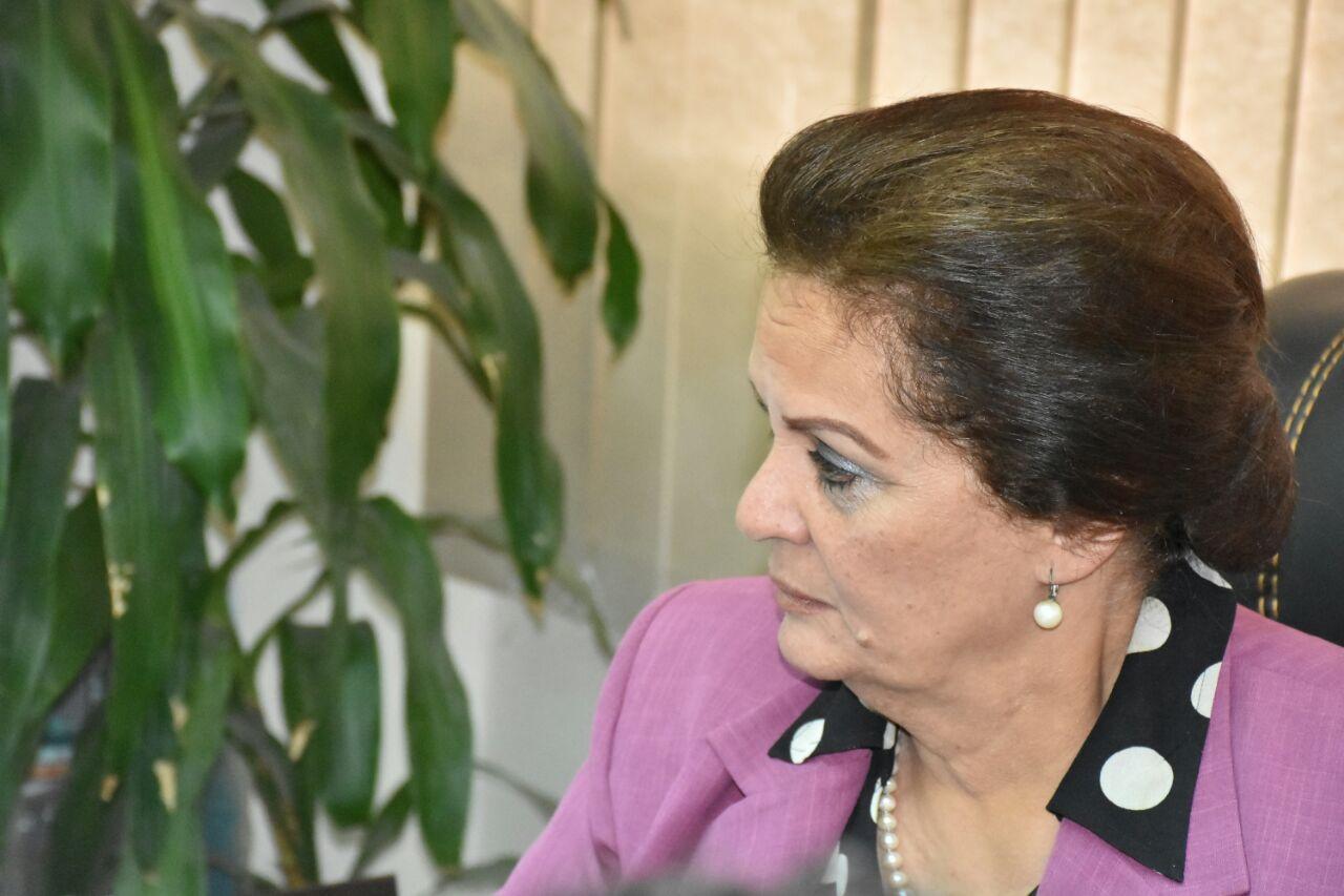 المهندسة نادية عبده محافظ البحيرة (6)