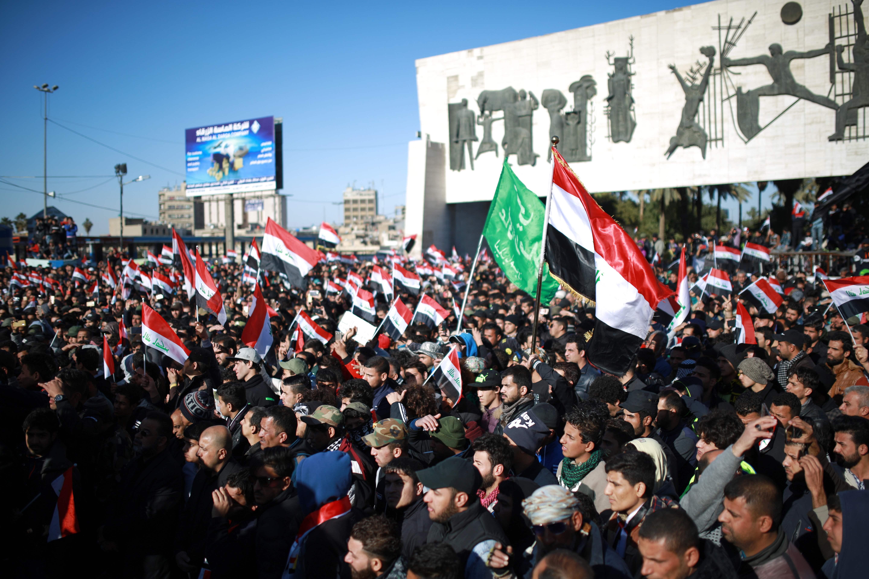 تجدد مظاهرات أنصار مقتدى الصدر فى ساحات بغداد