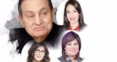 مبارك ومها بهنسى ونائلة عمارة ومعتزة مهابة
