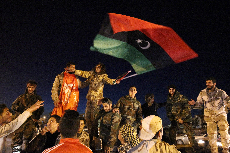 الاحتفال بالذكرى السادسة للثورة الليبية