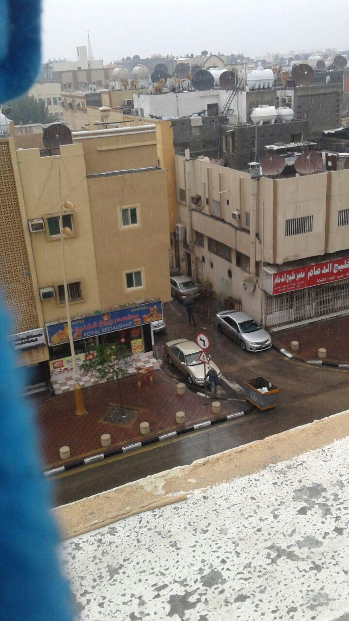 جانب آخر من شوارع الدمام