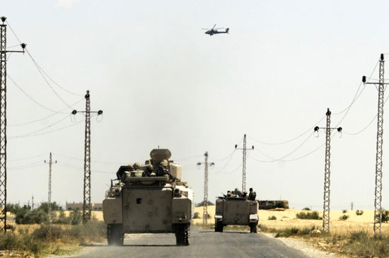 الجيش-الثالث-مقتل-3-تكفيريين-وضبط-3-وتدمير-مخازن-سلاح-بجبل-الحلال-فى-يومين