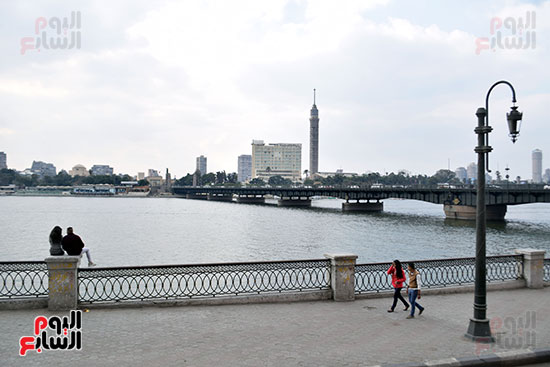 تقلبات جوية فى القاهرة وتحسن تدريجى بدءا من السبت (9)