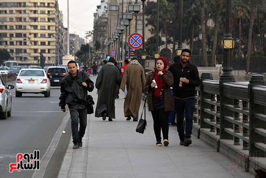 تقلبات جوية فى القاهرة وتحسن تدريجى بدءا من السبت (7)