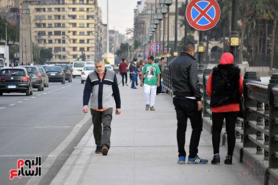تقلبات جوية فى القاهرة وتحسن تدريجى بدءا من السبت (3)
