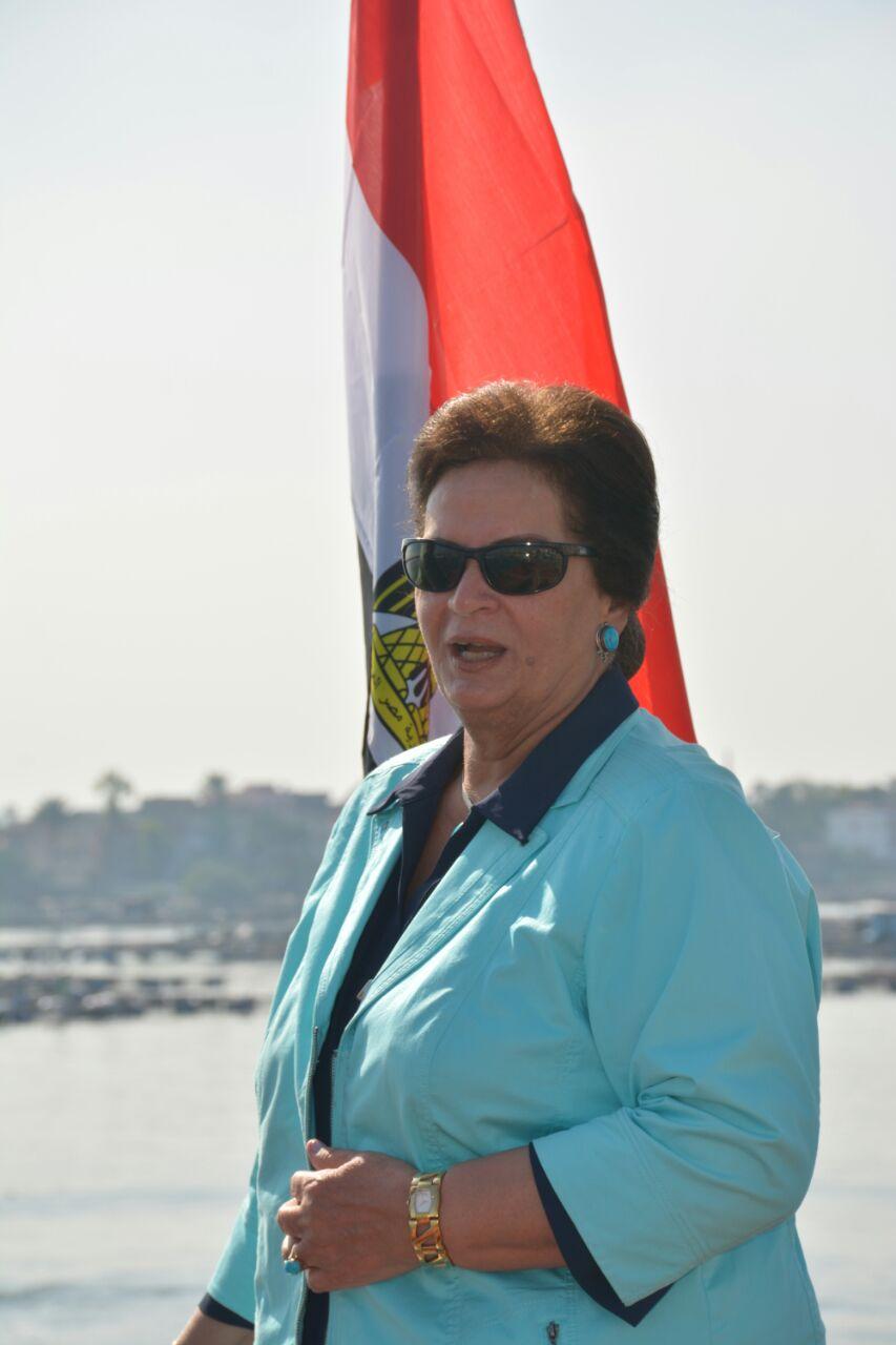 المهندسة نادية عبده محافظ البحيرة (4)