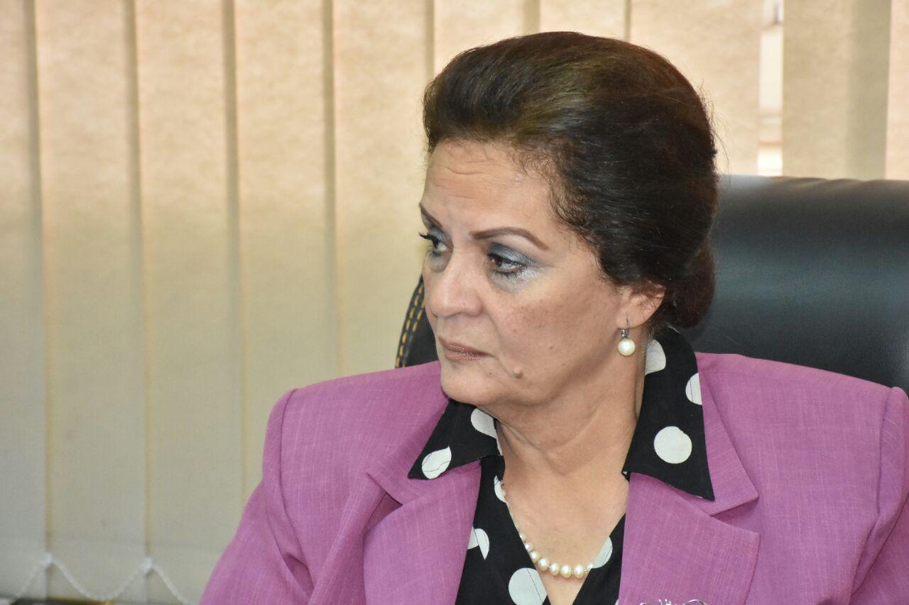 المهندسة نادية عبده محافظ البحيرة (7)