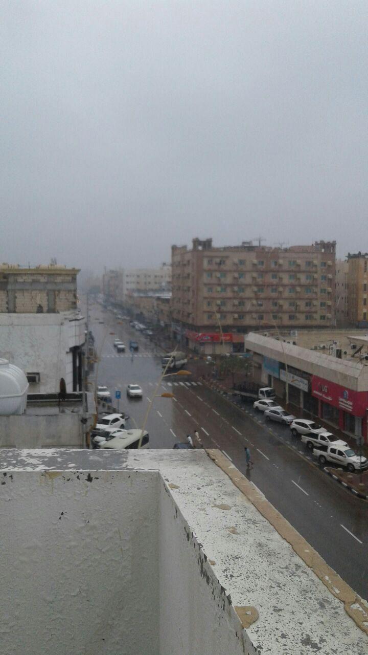 الطقس السئ فى السعودية