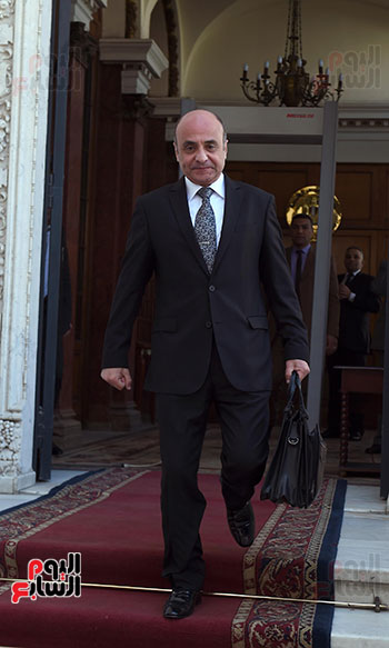 شريف اسماعيل و  عمر مروان، وزير شئون مجلس النواب (4)