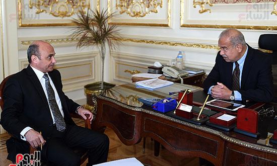 شريف اسماعيل و  عمر مروان، وزير شئون مجلس النواب (1)