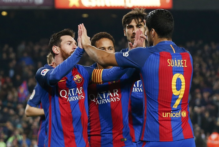 برشلونة ينجو من كمين ليغانيس بركلة جزاء