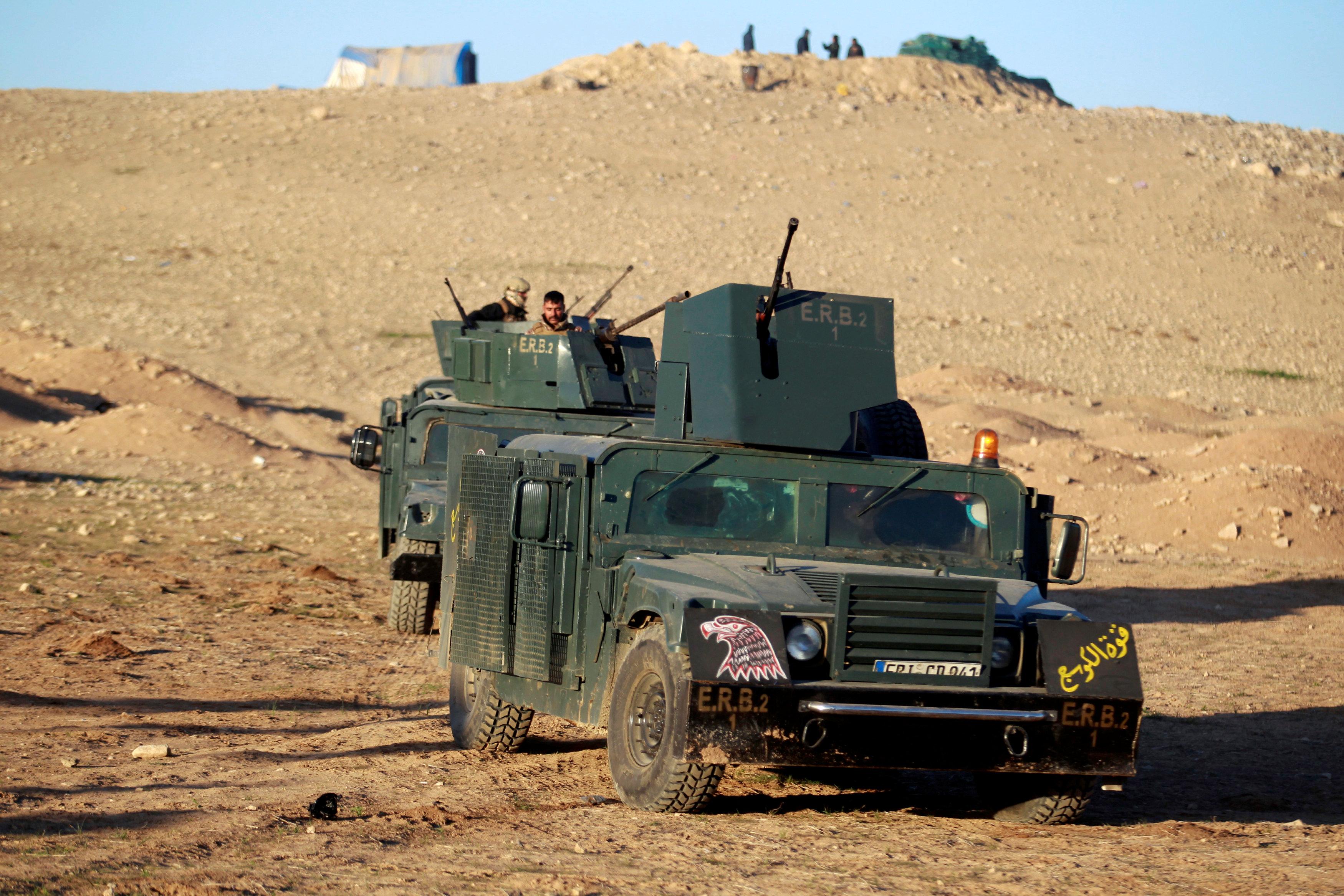 انتشار القوات العراقية