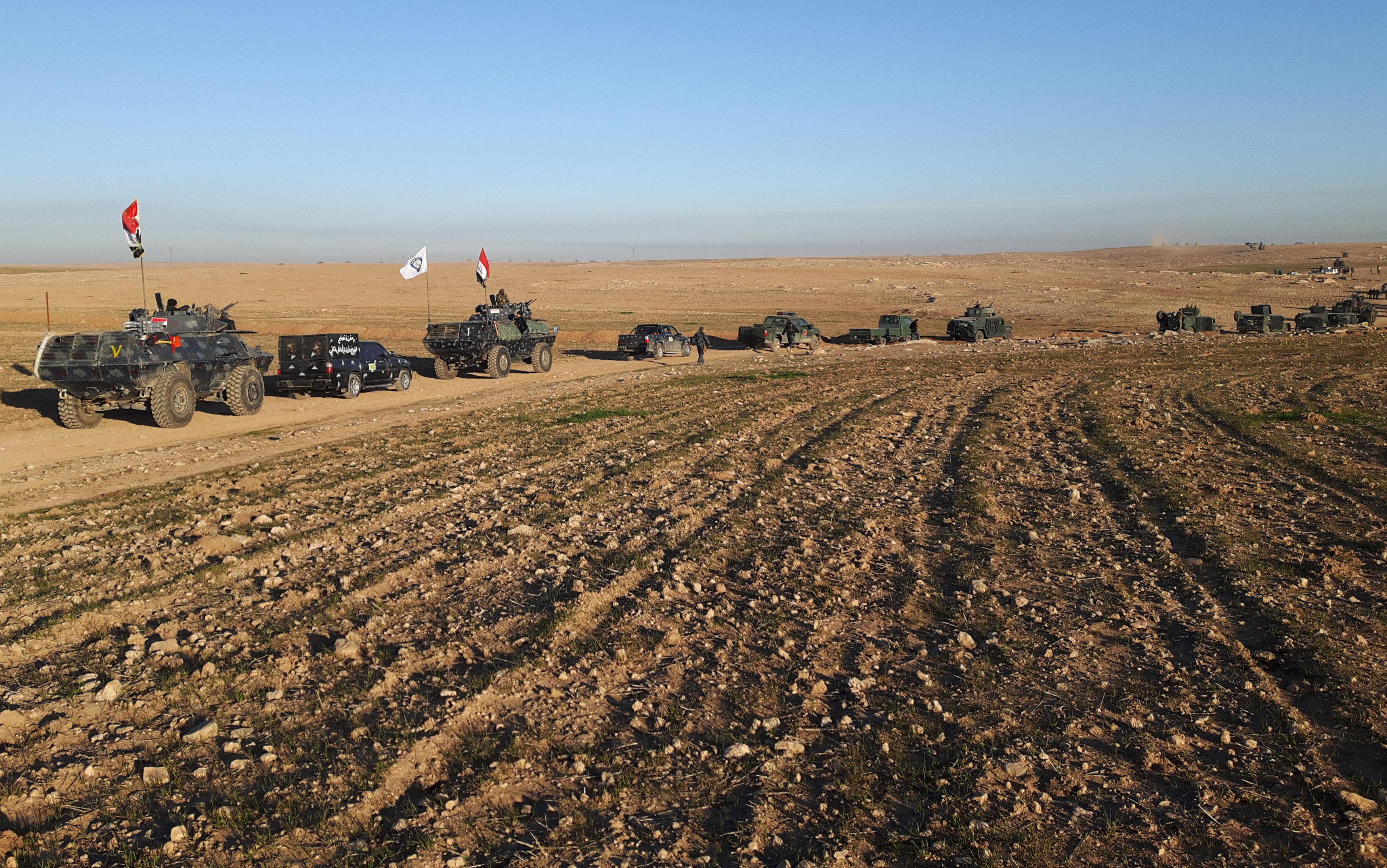 انطلاق العمليات العسكرية غرب الموصل