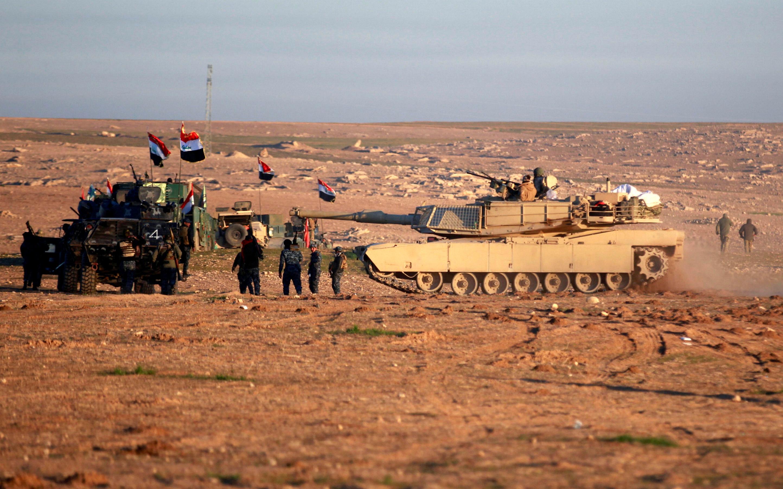 جانب من عمليات الجيش العراقى
