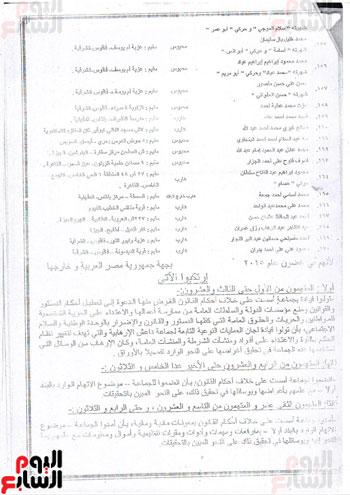 تفاصيل أخطر مؤامرات داعش ضد مصر (2)