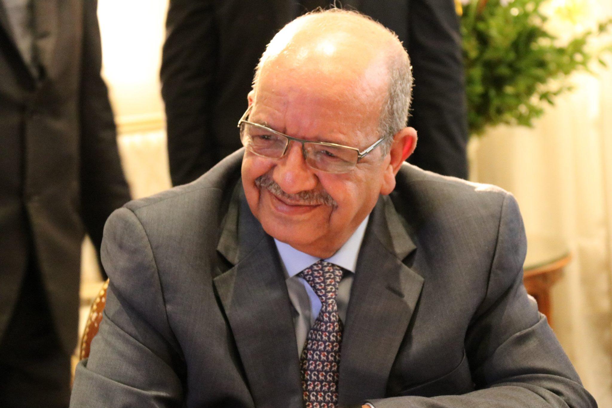 وزير الخارجية الجزائرى عبد القادر مساهل