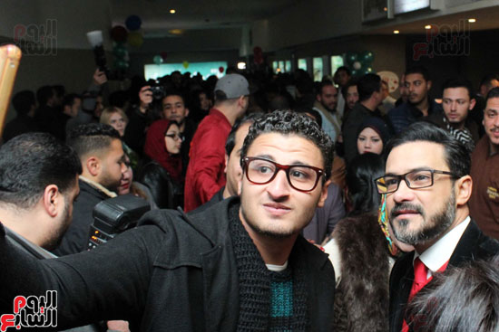 •سيلفي مع محمد رجب