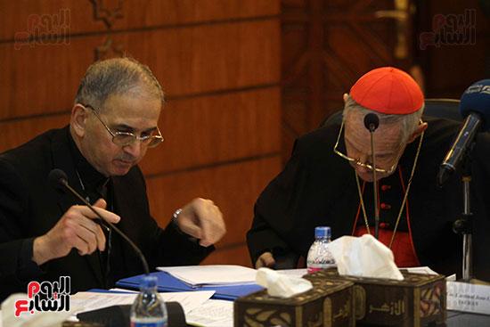 مؤتمر مشيخه الازهر والمجلس الباباوى (20)