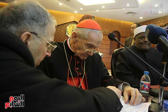 مؤتمر مشيخه الازهر والمجلس الباباوى (4)