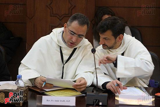 مؤتمر مشيخه الازهر والمجلس الباباوى (15)