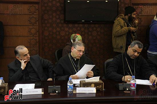 مؤتمر مشيخه الازهر والمجلس الباباوى (18)
