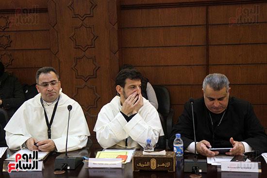 مؤتمر مشيخه الازهر والمجلس الباباوى (7)