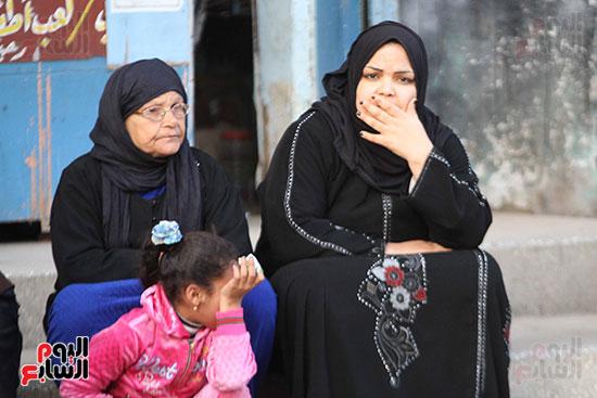 تشييع جثمان عمر عبد الرحمن بمسقط رأسه بالدقهلية (6)