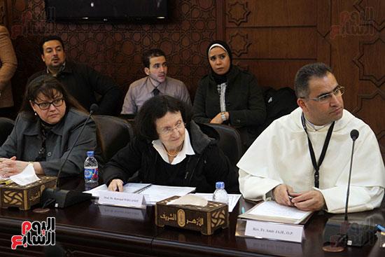 مؤتمر مشيخه الازهر والمجلس الباباوى (8)