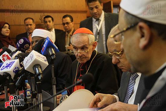 مؤتمر مشيخه الازهر والمجلس الباباوى (3)