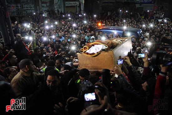 تشييع جثمان عمر عبد الرحمن بمسقط رأسه بالدقهلية (4)