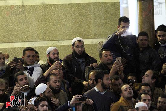 تشييع جثمان عمر عبد الرحمن بمسقط رأسه بالدقهلية (1)
