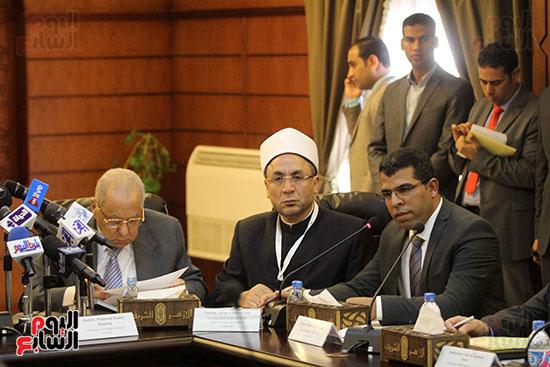 مؤتمر مشيخه الازهر والمجلس الباباوى (25)