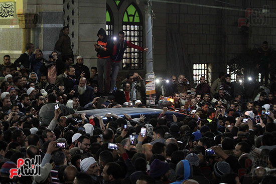 تشييع جثمان عمر عبد الرحمن بمسقط رأسه بالدقهلية (2)
