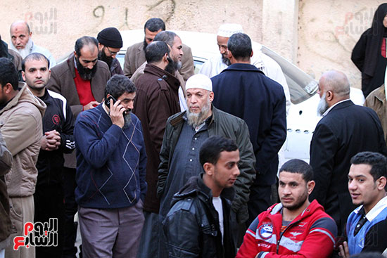 تشييع جثمان عمر عبد الرحمن بمسقط رأسه بالدقهلية (11)