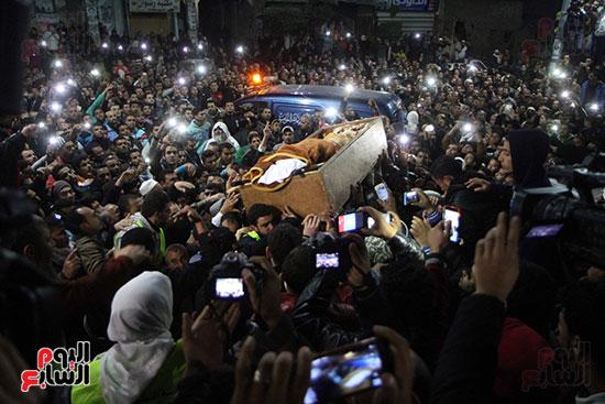 تشييع جثمان عمر عبد الرحمن بمسقط رأسه بالدقهلية (3)