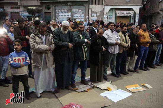 تشييع جثمان عمر عبد الرحمن بمسقط رأسه بالدقهلية (13)